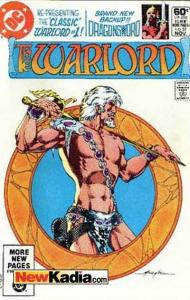 Warlord (1976 series) #51, VF (Stock photo)