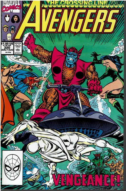 Avengers #320 - NM - Alpha Flight Appearance