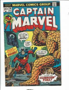 Captain Marvel # 26 VF/NM Marvel Comic Book Thanos Avengers Hulk Thor Thing TD1