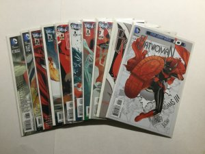 Batwoman 0 1-12 15 17 Lot Run Set Near Mint Nm Dc Comics