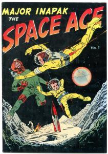 Major Inapak the Space Ace #1 1951- Bob Powell VF+