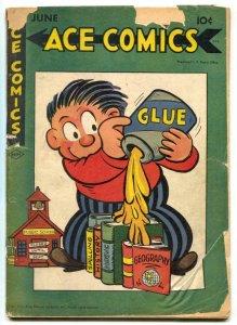 Ace Comics #99 1945- Phantom- Jungle Jim G+