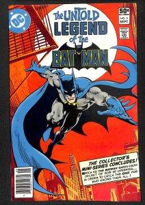 The Untold Legend of the Batman #3 (1980)