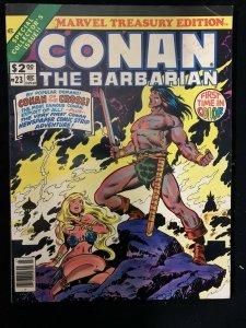 Marvel Treasury Edition Conan The Barbarian #23 1979-VG/FN