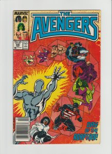 Avengers #290 (1988) NM- 9.2 Supreme Adaptoid, Newsstand Edition!