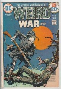 Weird War Tales #26 (Jun-74) GD Affordable-Grade