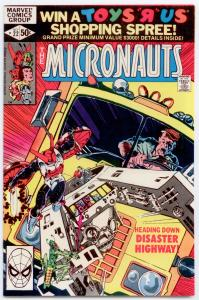 Micronauts #22 NM+ 9.6  NEVER READ   ORIGINAL OWNER