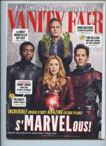 VANITY FAIR: Avengers Infinity War Cover (Hulk, Black Panther, Wanda, Ant Man)