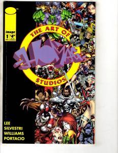 5 Image Comics Art Of Homage # 1 + Ascension # 1 2 3 + Avengelyn Glory # 1 CR29