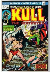 KULL the CONQUEROR 12, VF/NM, Robert Howard, Mike Ploog, 1971, more in store