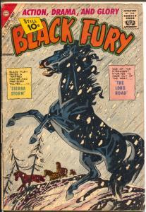Black Fury  #33 1961-Charlton-Sierra Storm-10¢ cover price-Masked Rider-VG