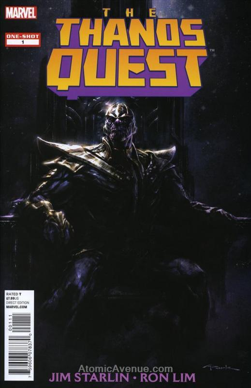 Thanos Quest, The CS #1 FN; Marvel | save on shipping - details inside