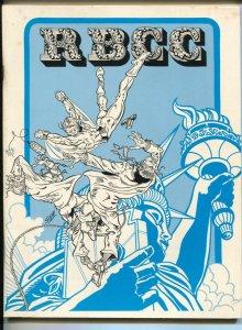 Rocket's Blast ComiCollector #128 1976-Bob Susor-Mike Zeck-Neal Adams-EC artists