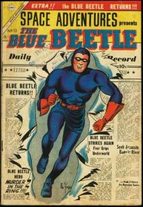 BLUE BETTLE #13-FOX COMICS-GREAT COVER-BOXING STORY VG