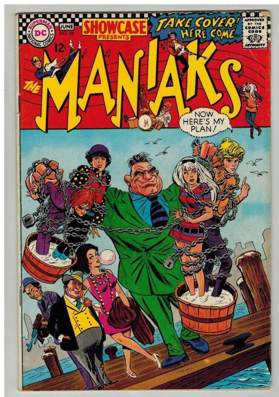 SHOWCASE  68 GOOD May-June 1967 MANIAKS