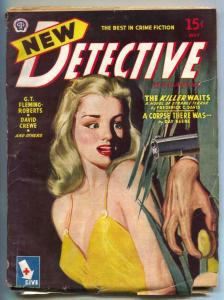 New Detective Pulp May 1945- Killer Waits- Day Keene