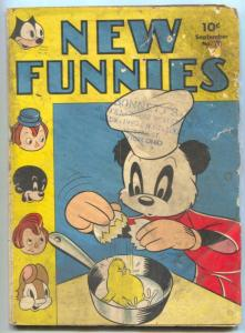 New Funnies #79 1943- Andy Panda- Felix the Cat G