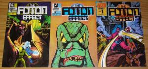 the Foton Effect #1-3 VF/NM complete series - aced comics - CA comics set lot 2