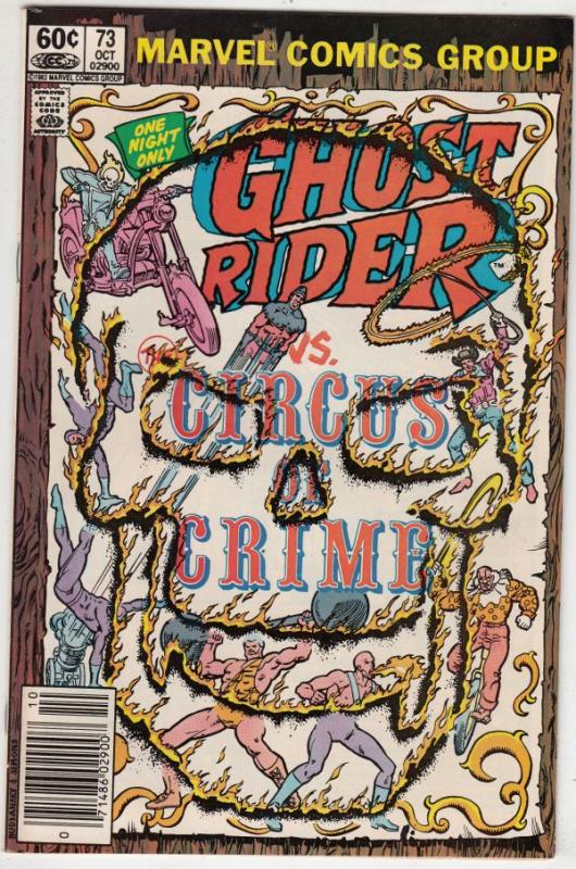 Ghost Rider, The #73 (Oct-82) NM- High-Grade Ghost Rider