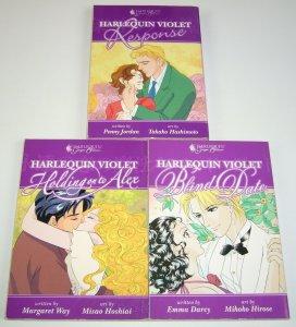 Harlequin Violet lot of (3) VF/NM complete set - dark horse manga - blind date