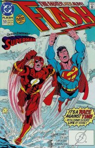 Flash (2nd Series) #53 VF/NM; DC   save on shipping - details inside
