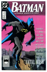Batman 430 Feb 1989 NM- (9.2)