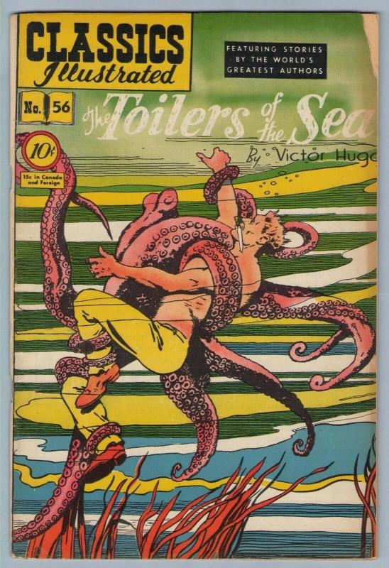 Classics Illustrated 56 (original) Feb 1949 VG (4.0)
