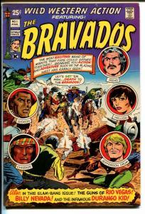Wild Western Action #1 1971-Skywald-1st issue-Giant-Bravados-Durango Kid-FN/VF
