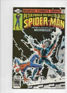 Peter Parker SPECTACULAR SPIDER-MAN #38 VF/NM, Morbius 1976 1980 more in store