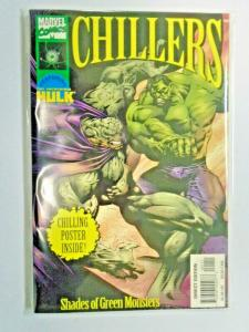 Marvel Chillers Shades of Green Monsters #1 A - with poster - 6.0 - 1997