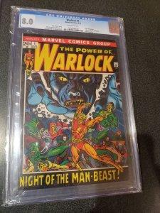 WARLOCK #1 CGC 8.0 ORIGIN OF WARLOCK