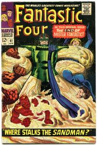 FANTASTIC FOUR #61, VF+, Silver Surfer, Jack Kirby, 1961, more FF in store, QXT