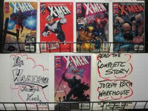 X MEN EVE OF DESTRUCTION  5-PART XOVER