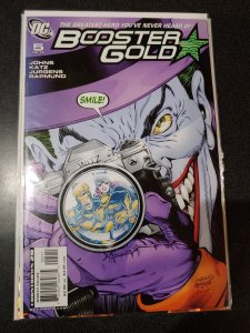 BOOSTER GOLD #5 THE JOKER ISSUE   SCARCE