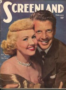 Screenland 2/1949-Betty Grable-Dan Dailey-Gene Autry-Sonja Hennie-VG
