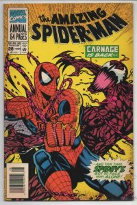 Amazing SPIDER-MAN #28, Annual, FN+, 1963 1994, Carnage more Marvel in store