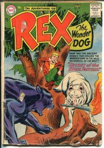 Adventures of Rex The Wonder Dog #32 1957-DC-Detective Chimp-GOOD MINUS