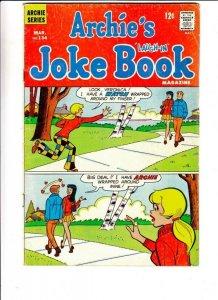 Archie's Joke Book # 134 Strict FN Mid-Grade Veronica, Reggie, Jughead, Moose