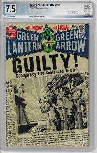 Green Lantern #80 (DC, 1970) PGX 7.5
