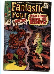 FANTASTIC FOUR #66  Warlock origin begins 1967 G/VG