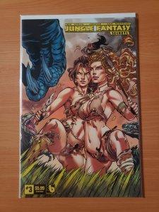 Jungle Fantasy Secrets #3 Luscious Variant Cover
