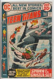Teen Titans, The #40 (Aug-73) FN Mid-Grade Kid Flash, Robin, Wonder Girl, Speedy