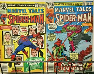MARVEL TALES 98-99 Spider-Man - Death of Gwen Stacy F-VF 2 issue '70's Reprints
