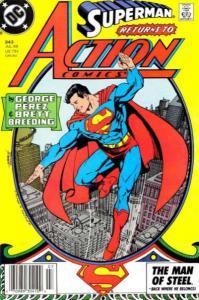 Action Comics (1938 series) #643, Fine+ (Stock photo)