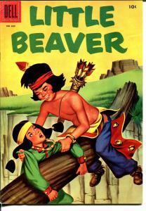 Little Beaver-Four Color Comics #660 1955-Dell-Fred Harmon-FN