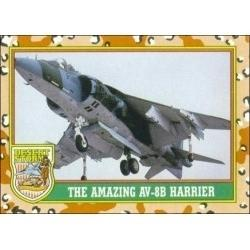1991 Topps Desert Storm THE AMAZING AV-8B HARRIER #32