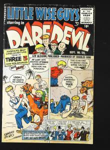 Daredevil Comics (1941 series) #125, VG- (Actual scan)
