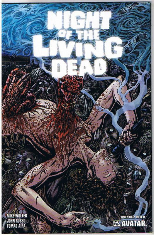 NIGHT of the LIVING DEAD #3, NM, Wrap, Zombies,2010, undead,more NOTLD in store
