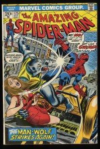 Amazing Spider-Man #125 VG- 3.5 Marvel Comics Spiderman 2nd Man-Wolf!