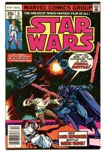 STAR WARS #6-1977- Darth Vader  VF comic book